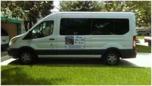 our new ministry van